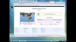 Download How to get the Latest Internet Explorer 10! Video