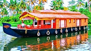 Download Beautiful Alleppey Houseboats - Kerala, India Video