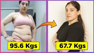 Download Before & After 28 Kg 62 Pound Weight Loss Transformation, Journey & Tips Video