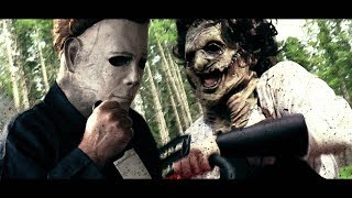 Download MICHAEL MYERS vs LEATHERFACE (Halloween vs Texas Chainsaw) Video