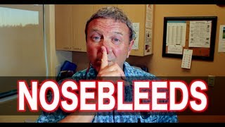 Download How To Deal With Nosebleeds | Pediatric Advice Video