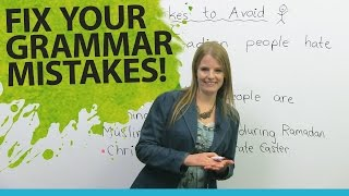 Download Fix Your English Grammar Mistakes: Talking about People Video