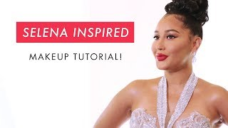 Download Adrienne Houghton's Selena Inspired Makeup Tutorial | All Things Adrienne Video
