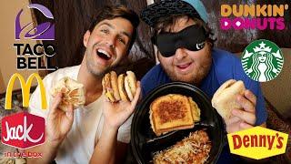 Download FINAL BLINDFOLD FASTFOOD CHALLENGE! (BREAKFAST FOODS!) Video