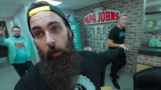 Download The Papa John's All-You-Can-Eat Deep Crust Launch Challenge | C.O.B. Ep.33 Video