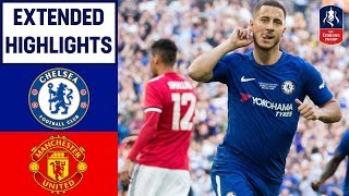 Download Chelsea 1-0 Manchester United | Hazard Wins it for Chelsea! | Emirates FA Cup Final 2017/18 Video