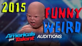 Download America's Got Talent 2015: Weird / Crazy / Funny / Bad Auditions Video