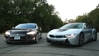 Download BMW i8 vs. Tesla Model S | Consumer Reports Video