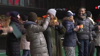 Download Behind the Scenes of Waitress' Macy's Thanksgiving Day Parade Rehearsal Video