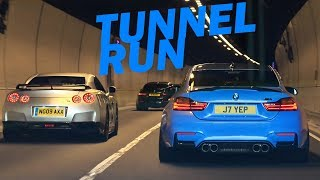 Download 50+ Supercars dodging Police for a TUNNEL RUN! Video