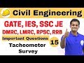 Download 9:00 AM | Civil by Nikhil Sir | Day #15 | Tacheometer Survey Video