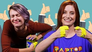 Download Coworkers Play No Thumbs Challenge! Video