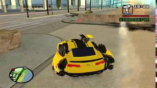 Download Transformers mod Bumblebee TF RODS for GTA SA Video