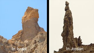 Download Lot's Wife Pillar, Mount Sodom, and Zohar Fortress Video