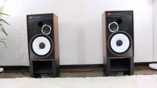 音質比較 Sound comparison of JBL 4312 MkII  JBL original old