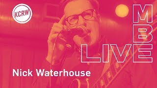 Download Nick Waterhouse performing ″Black Glass″ live on KCRW Video