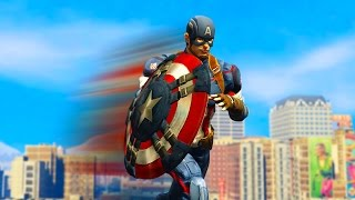 Download CAPTAIN AMERICA VS THE CITY! (GTA 5 Funny Moments) Video