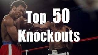 Download Top 50 Knockouts of All Time Video