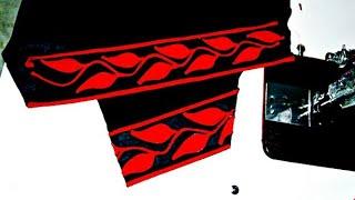 Download Ptyala salwars mohri (ponch) Designs (Leaves)stitching Video