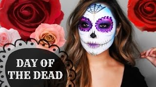 Download Day of the Dead Sugar Skull Makeup Tutorial   Diana Quach Video