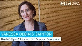 Download European education policy: an interview with Vanessa Debiais-Sainton, European Commission Video