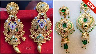 Download Rajputi Gold Earring Design | New Earrings Design In Gold | Rajasthani Earrings | Patta Design | RS Video