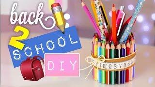 Download DIY SCHOOL SUPPLIES & DESK ORGANIZATION • BACK TO SCHOOL ❤ mit Lisa Maria Moór! ☺️ Video