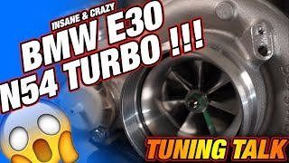 Download BMW E30 N54 TURBO, N54 Singleturbo, E30 Turbo, Hamburg TurboBande TuningTalk RaceCity Video