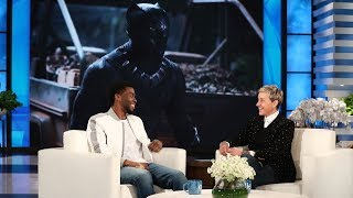 Download 'Black Panther' Star Chadwick Boseman on Feeling Like the Mayor Video