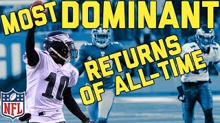 Download The Most Dominating Kick and Punt Returns for TDs of All-Time | NFL Highlights Video