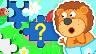 Download Lion Family – Cartoon for Kids How to Collect Puzzles Video