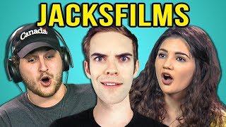 Download COLLEGE KIDS REACT TO JACKSFILMS Video