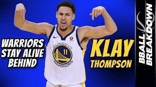 Download WARRIORS Stay Alive Behind Klay Thompson Video