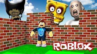 Download SOBREVIVE A LOS MONSTRUOS DE ROBLOX !! (Bendy, Bob esponja, Granny) Video