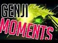 Download INSANE GENJI PRO OVERWATCH OUTPLAYS! ( SEAGULL - SHADOWBURN - TWOEASY - POKE ) Video