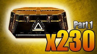 Download 230 ADVANCED SUPPLY DROPS OPENING MONTAGE! (Part 1 - 100 Packages Unboxing) Video