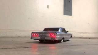 Download Lowrider 64 Impala Chevy Bel Air RC cars hitting the switches Video
