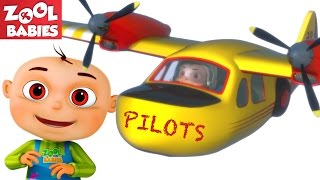 Download Zool Babies As Pilots Douse Forest Fire | Five Little Babies Series | Cartoon Animation For Children Video