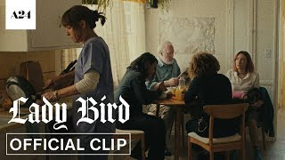 Download Lady Bird | McPherson Family Breakfast | Official Clip HD | A24 Video