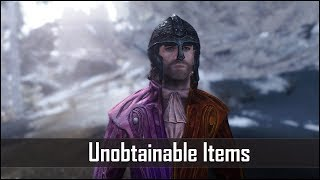 Download Skyrim: 5 Unobtainable Items that you're Not Allowed to Use - The Elder Scrolls 5: Skyrim Secrets Video