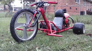 Download DHC Custom Motorized Drift Trike Pt #3(Test Run dead-axle) Video