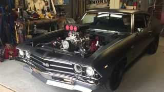 Download Blown '69 Chevelle Cold Start Video