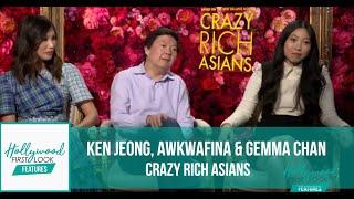 Download Interviews with Ken Jeong, Awkwafina & Gemma Chan | CRAZY RICH ASIANS (2018) Video