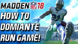 Download Madden 18 HOW TO DOMINATE THE RUN GAME! 3 MONEY PLAYS! BEAT ANY SOLO Madden 18 Ultimate Team MUT 18 Video