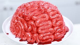 Download HOW TO MAKE A BRAIN CAKE - NERDY NUMMIES Video