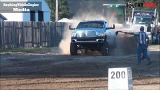 Download MTTP Truck Pulls At Ludington MI - Street Diesel Pickup Truck Class Aug 2016 Video