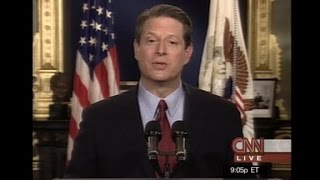 Download Al Gore concedes presidential election of 2000 Video