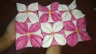 Download হাতে তৈরী কাপড়ের কুশন এবং টেবিল ম্যাট.. ||Handmade table mate and pillow cover. Video