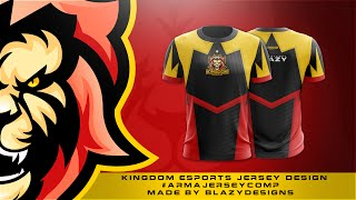 Download Kingdom eSports Jersey Design #ArmaJerseyComp Video