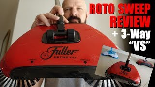 Download Roto Sweep Review: vs Easy Edge vs Spin Broom! Video